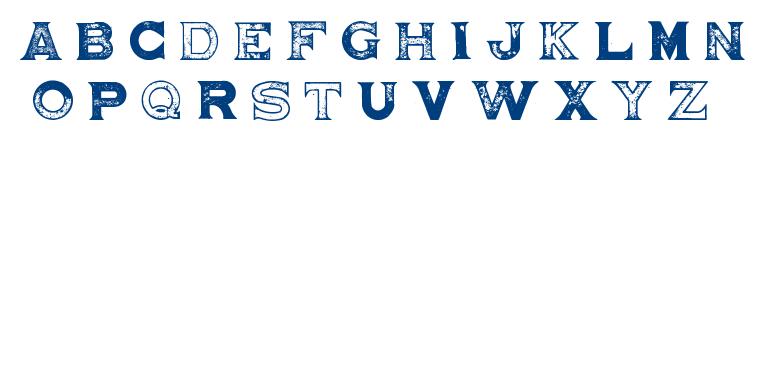 BRIGHTON PIER font