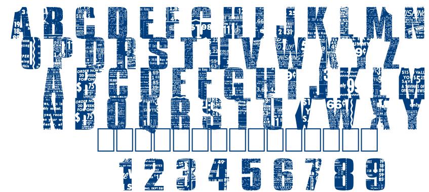 Buy More font