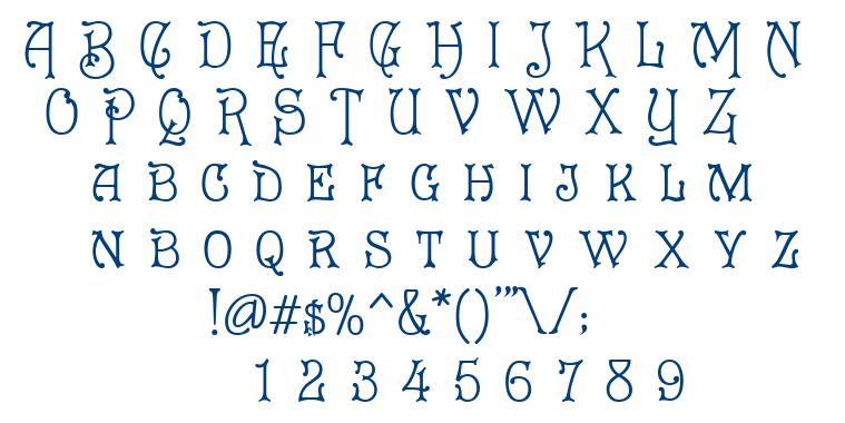 Cruickshank font