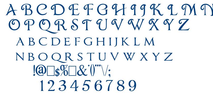 Chocolate Box font