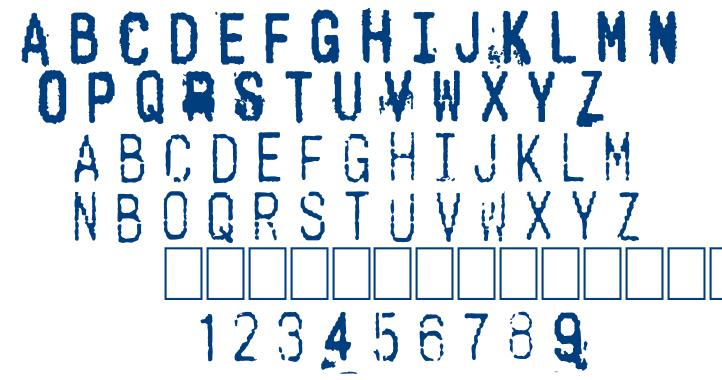 Cashier font