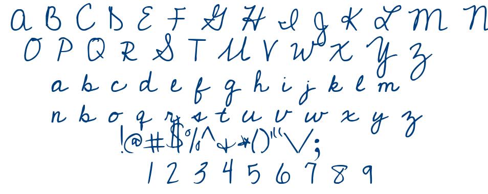 Cedarville Pnkfun1 Cursive font