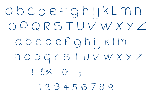 Cloutier Script font