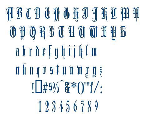 Duerer Gotisch font