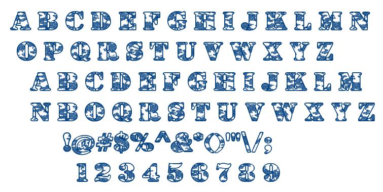 Dolen Taith font