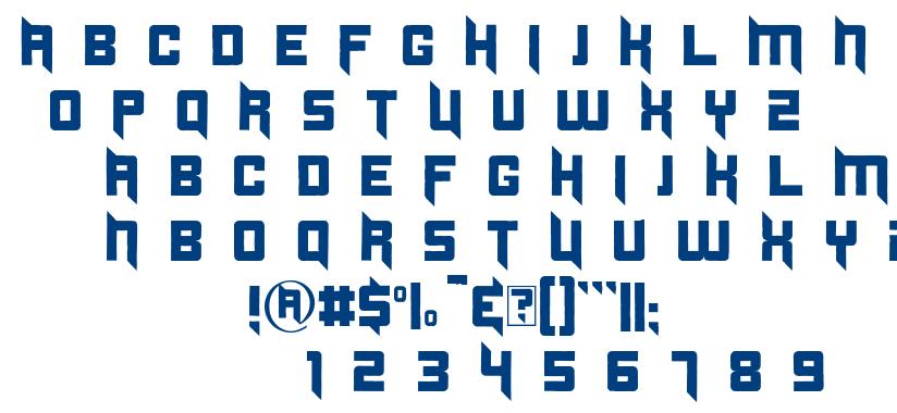 Duplexide font