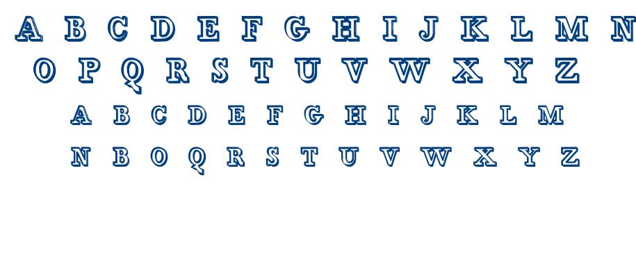 Egidia font