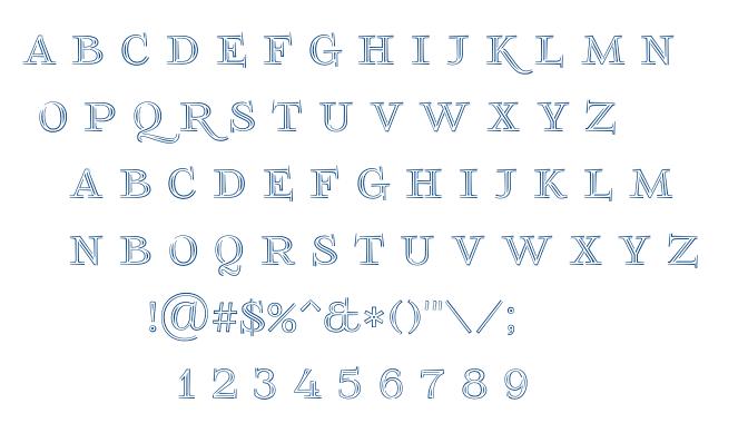 Foglihten No 03 font