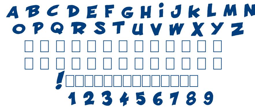 FRANCOBELGE font