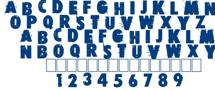 Free press font