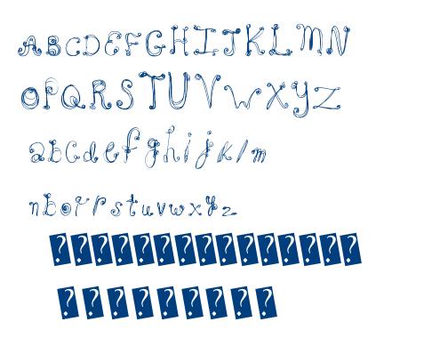 French Sugar font