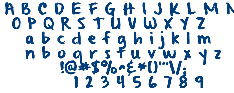From Where You Are font