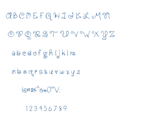 Gingersnaps font