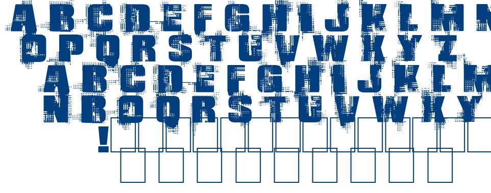 Gling font