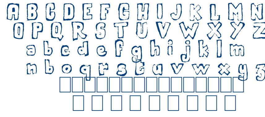 Handout font