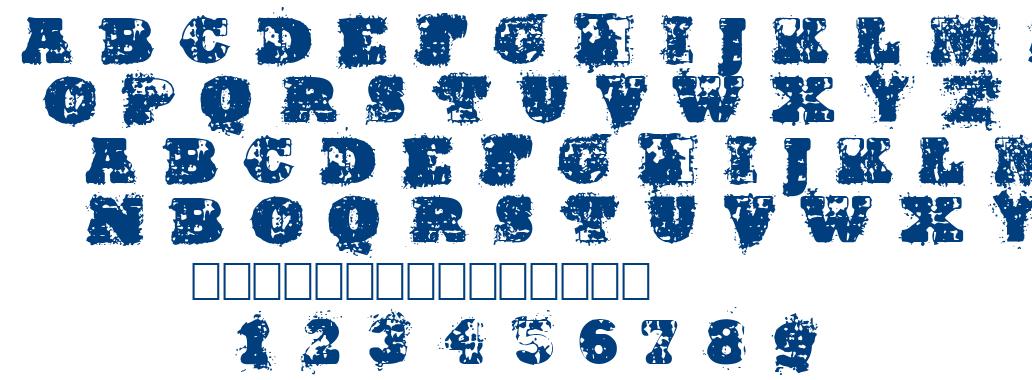 Hardwell font