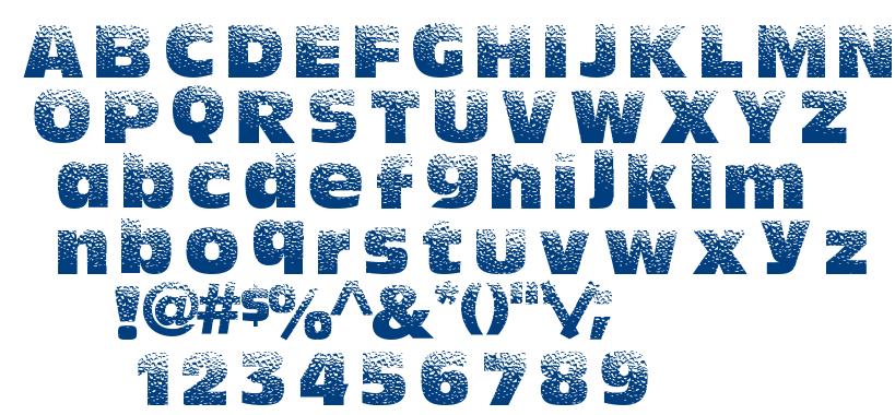 HotSweat font
