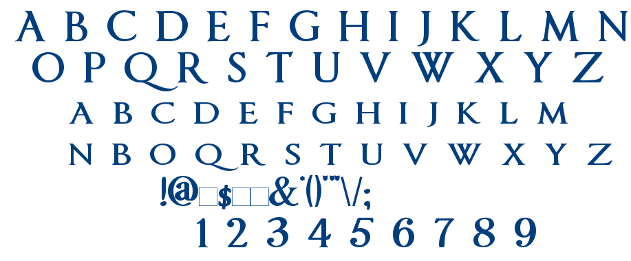 Imperator font