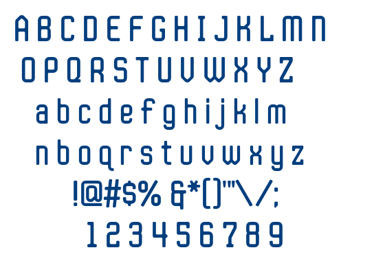 JLS Space Gothic font