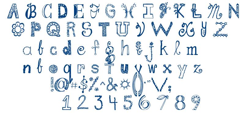 Janda Fabulous font