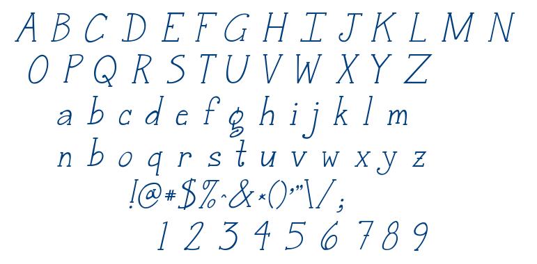 Janda Snickerdoodle Serif font