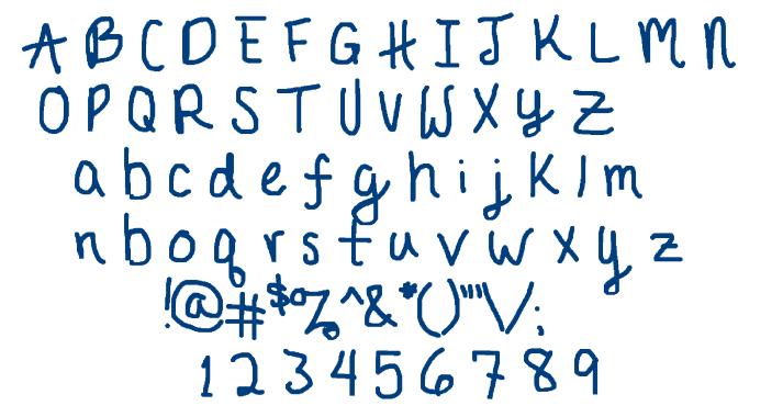 JournalEB font