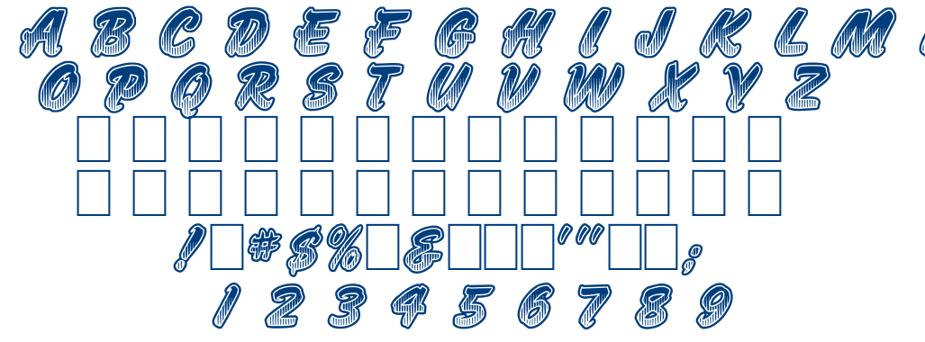 JUMBO PARADE font
