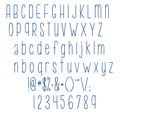 KG Call Me Maybe font