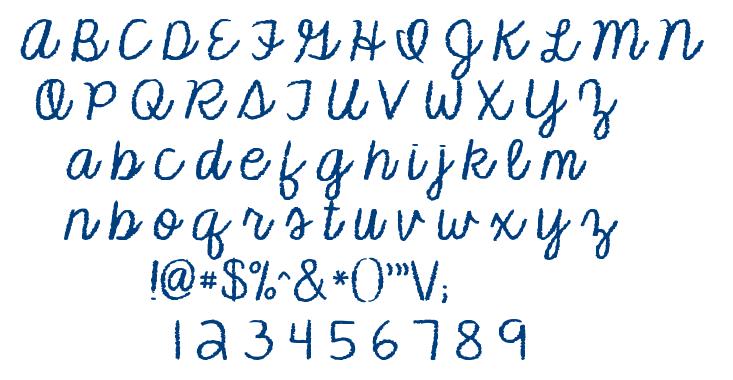 KG Makes You Stronger font