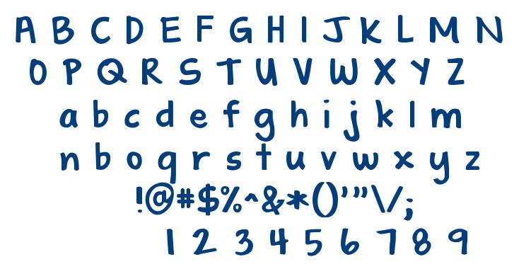KG Shadow font