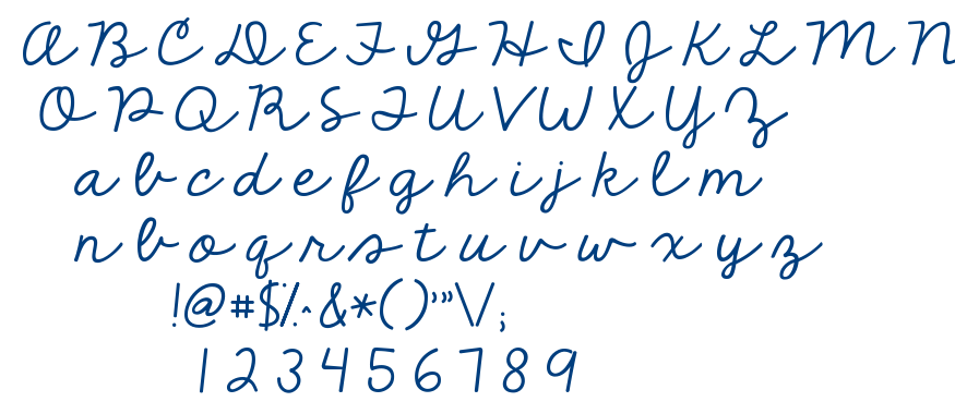 KG The Fighter font
