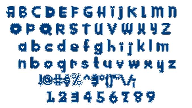 Kinkee font