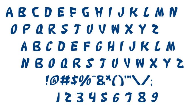 Katana font