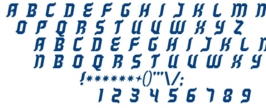 Kill your darlings font