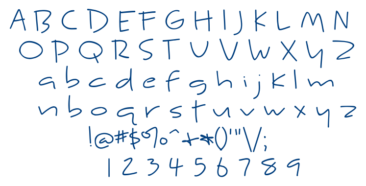 Kyne Morgan font