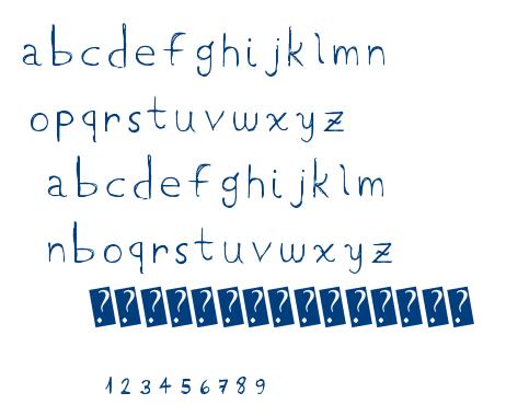 LowCase font