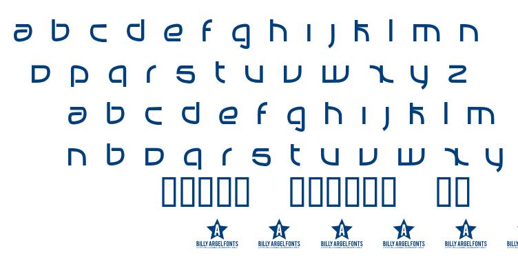 Manabu font