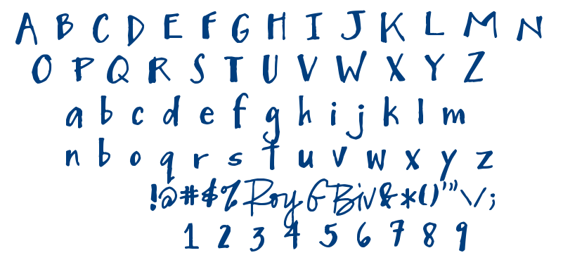 Mighty to Save font
