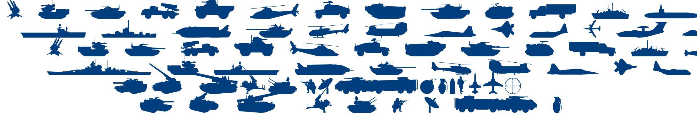 Military RPG font