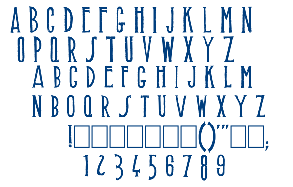 Muffaroo font