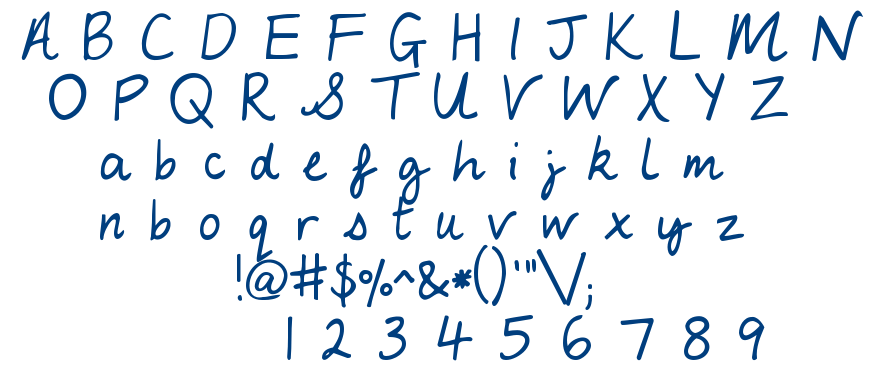 My Lucky Penny font