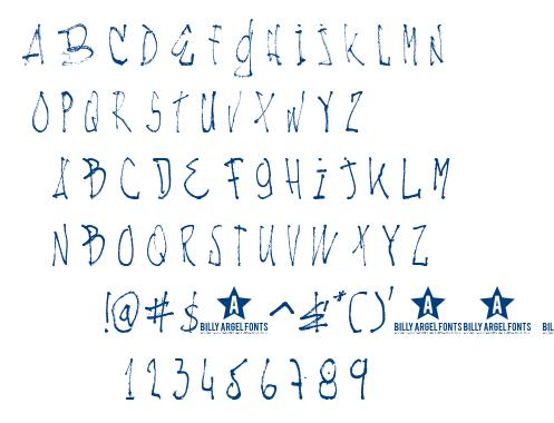 Nachos & TV font