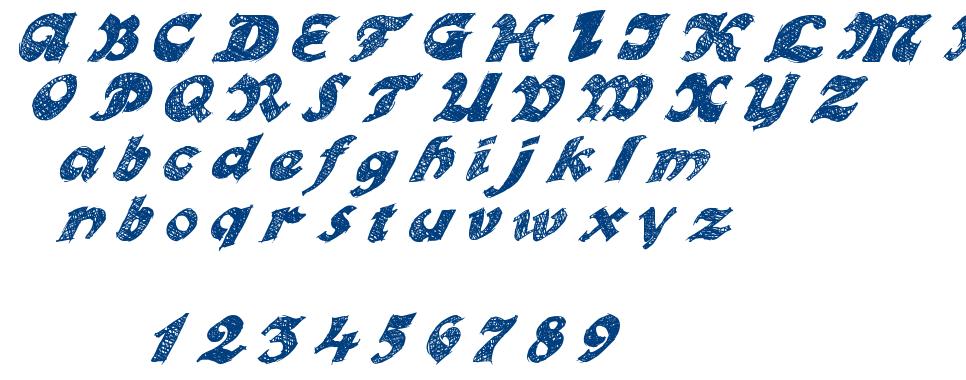 Otto Land font