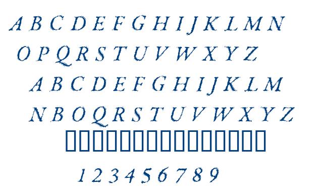 Parkinson font
