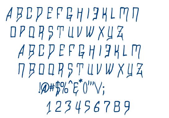 Razalgur font