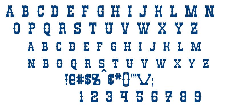 Rio Oro font
