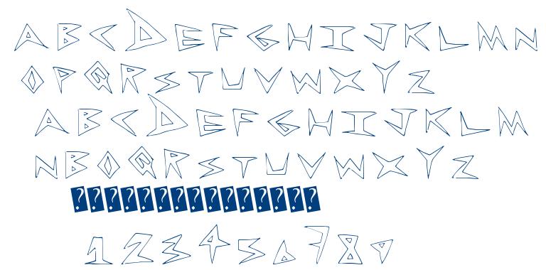 RockLess font