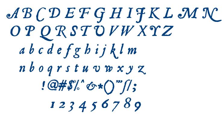 Roman Antique font