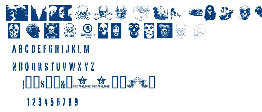 Skull TS 2 font