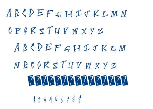 ScratchPoint font